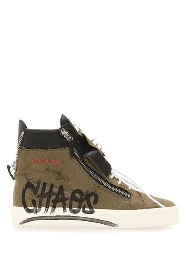 Giuseppe Zanotti Sneakers Yeşil